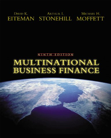 9780201635386: Multinational Business Finance (9th Edition)
