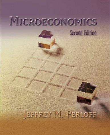 9780201637731: Microeconomics (2nd Edition)