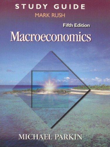 9780201637878: Macroeconomics (Study Guide)