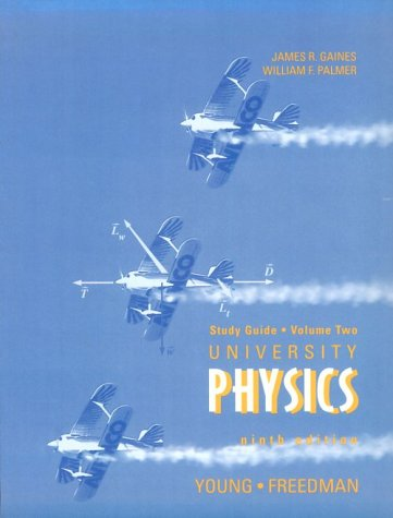 9780201640588: Supplement: Study Guide Vol 2 - University Physics, with Modern Physics Vol 1: International Editi