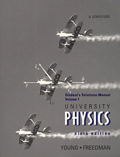 9780201640595: University Physics Vol  1 : Students Solutions Manual