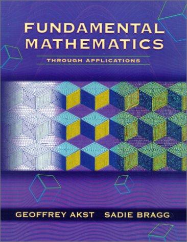9780201642025: Fundamental Mathematics Through Applications