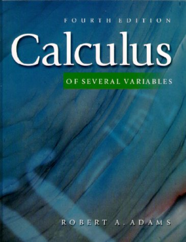 9780201643886: Calculus of Several Variables