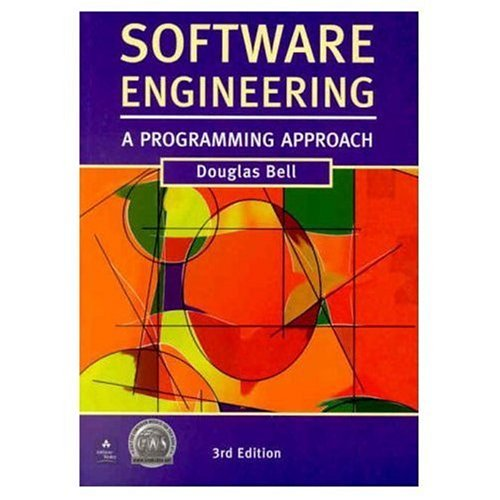9780201648560: Software Engineering: A Programming Approach (3rd Edition)