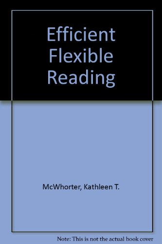 9780201654868: Efficient Flexible Reading
