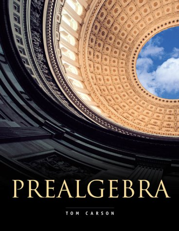 9780201655537: Prealgebra