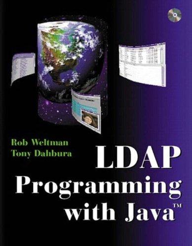 9780201657586: LDAP Programming with Java