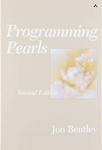 9780201657883: Programming Pearls