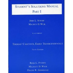 9780201662115: Student's Solutions Manual, Part 1 ET: ET pt. 1