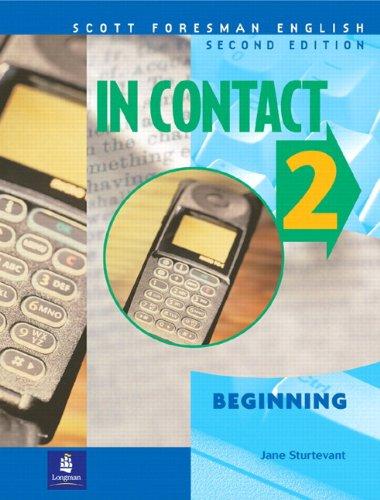 9780201664058: In Contact 2, Beginning, Scott Foresman English Book 2 A