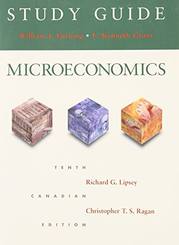 9780201664706: Study Guide for Lipsey and Ragan Microeconomics - Tenth Edition
