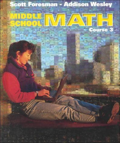 9780201669725: Middle School Math Course 3