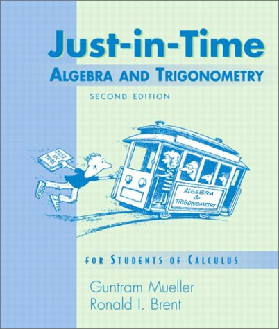 9780201669749: Just-in-Time Algebra and Trigonometry for Students of Calculus, 2/e (2nd Edition)