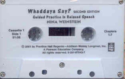 9780201670431: Whaddaya Say? Audiocassettes (3)