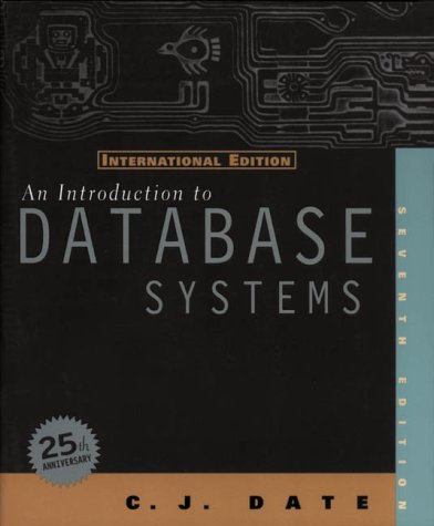9780201684193: An Introduction to Database Systems: International Edition (World Student)