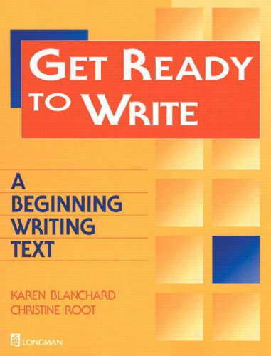 9780201695175: Get Ready to Write: A Beginning Writing Text