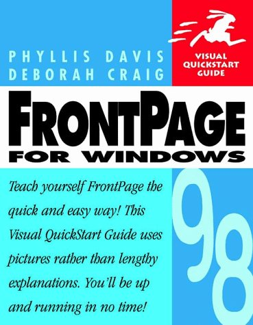 9780201696943: Frontpage 98 for Windows (Visual QuickStart Guide)