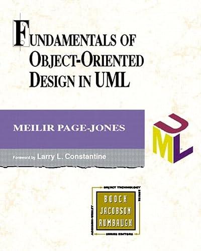 9780201699463: Fundamentals of Object-Oriented Design in UML
