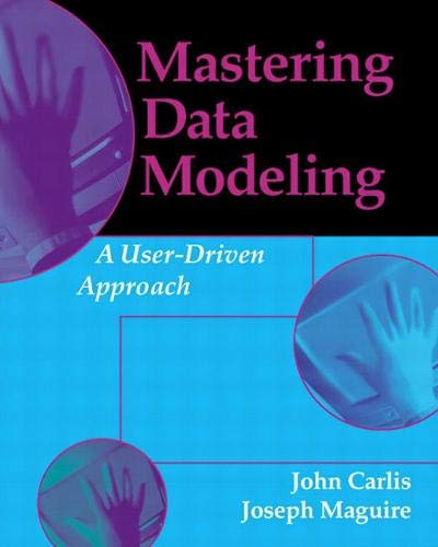 9780201700459: Mastering Data Modeling: A User-Driven Approach