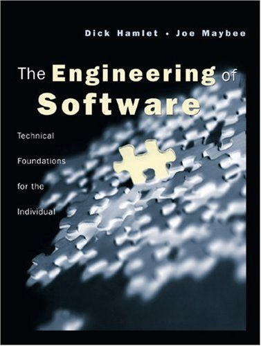 9780201701036: The Engineering of Software: A Technical Guide for the Individual