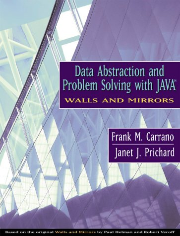 9780201702200: Data Abstraction and Problem Solving with Java: Walls and Mirrors