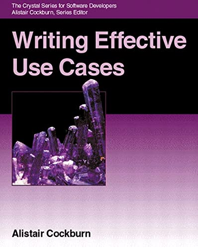 9780201702255: Writing Effective Use Cases (Agile Software Development Series)
