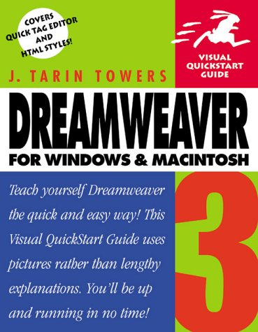 9780201702408: Dreamweaver 3 for Windows & Macintosh, Third Edition (Visual QuickStart Guide)