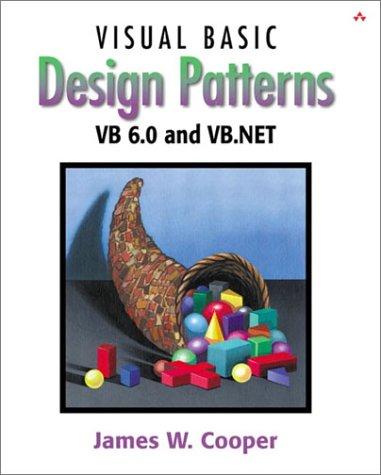 9780201702651: Visual Basic Design Patterns VB 6.0 and VB.NET (With CD-ROm)