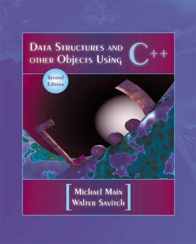 9780201702972: Data Structures and Other Objects Using C++