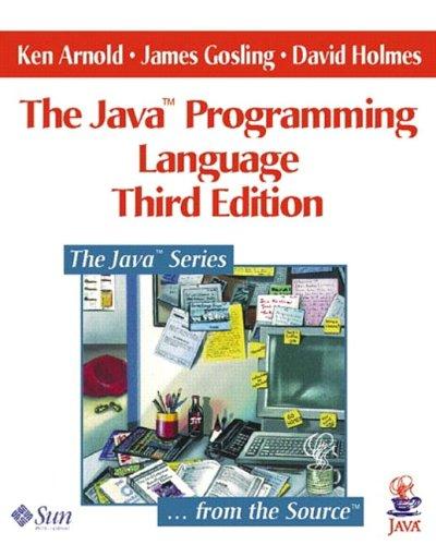 9780201704334: The Java Programming Language