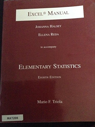 9780201704594: Elementary Statistics