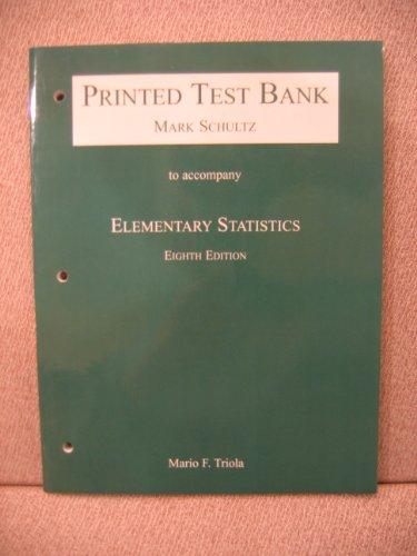 9780201704631: Elementary Statistics - Eighth Edition