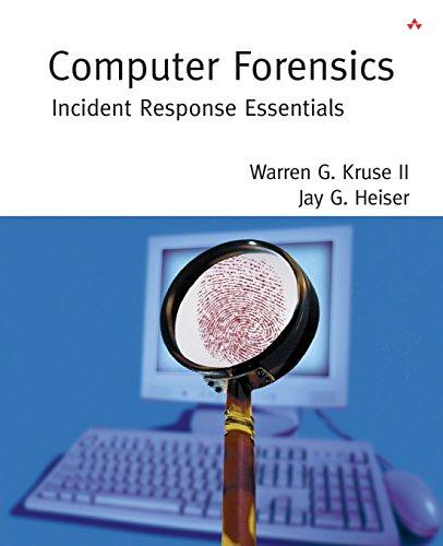 9780201707199: Computer Forensics: Incident Response Essentials