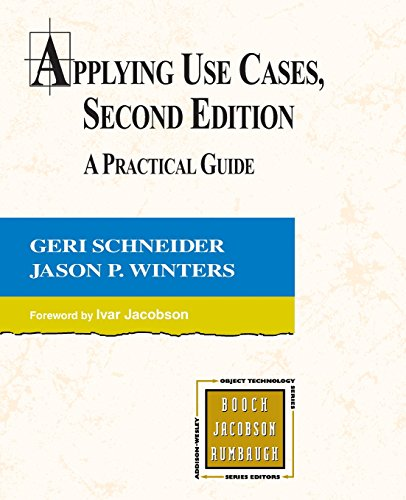 9780201708530: Applying Use Cases: A Practical Guide (2nd Edition)