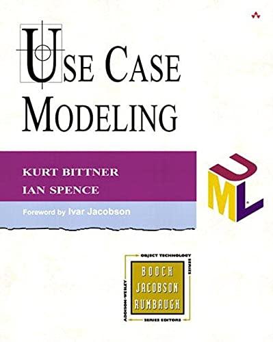 9780201709131: Use Case Modeling