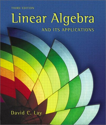 9780201709704: Linear Algebra and Its Applications (3rd Edition)