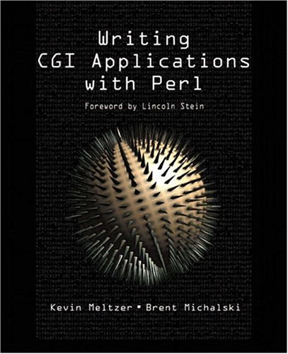 9780201710144: Writing CGI Applications with Perl