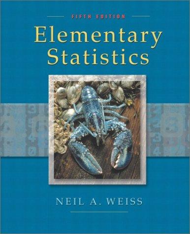 9780201710588: Elementary Statistics (5th Edition)