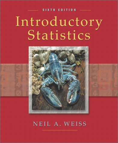 9780201710595: Introductory Statistics (6th Edition)