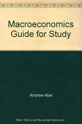 9780201712773: Macroeconomics Guide for Study