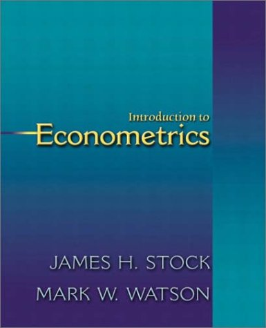 Introduction to Econometrics (The Addison-Wesley Series in: James H. Stock,