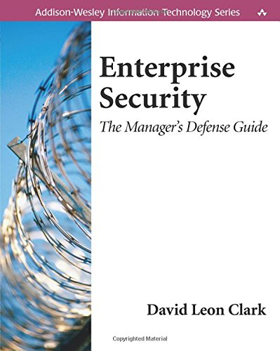 9780201719727: Enterprise Security: The Manager's Defense Guide
