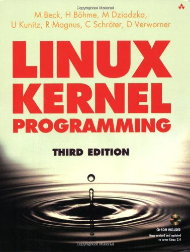 9780201719758: Linux Kernel Programming (3rd Edition)