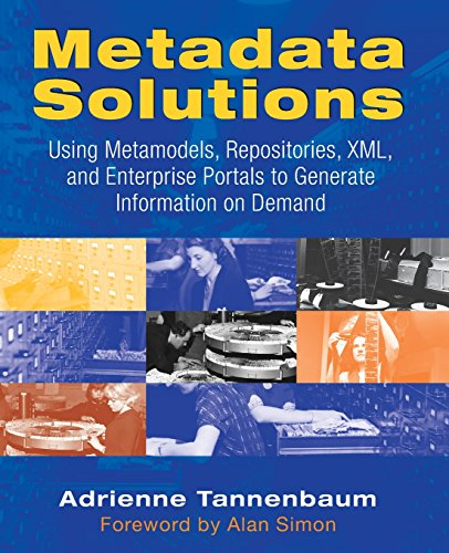 9780201719765: Metadata Solutions: Using Metamodels, Repositories, XML, and Enterprise Portals to Generate Information on Demand