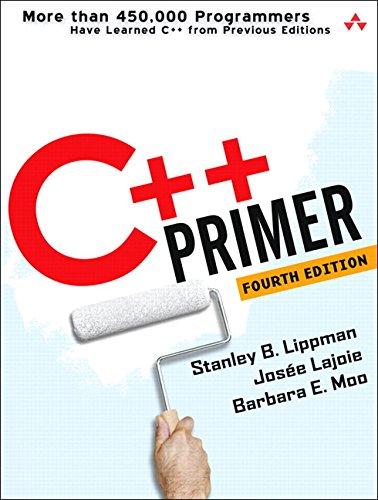 9780201721485: C++ Primer (4th Edition)