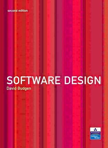 Software Design (2nd Edition): David Budgen