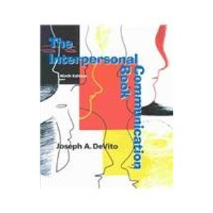 9780201725070: The Interpersonal Communication Book