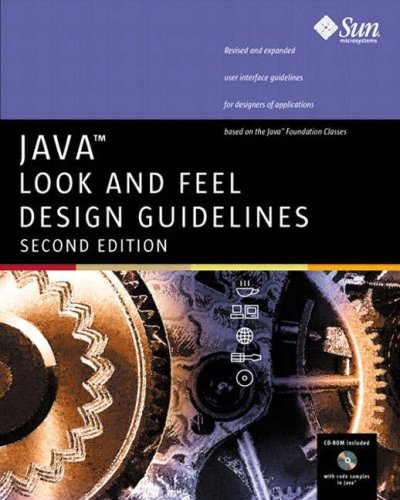 9780201725889: Java™ Look and Feel Design Guidelines (2nd Edition)