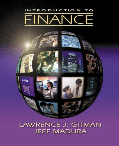 9780201725940: Introduction to Finance (Pie)