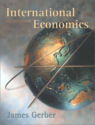 9780201726121: International Economics (2nd Edition)